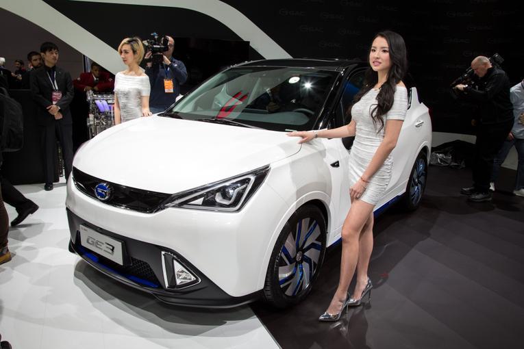 GE3 electric carF