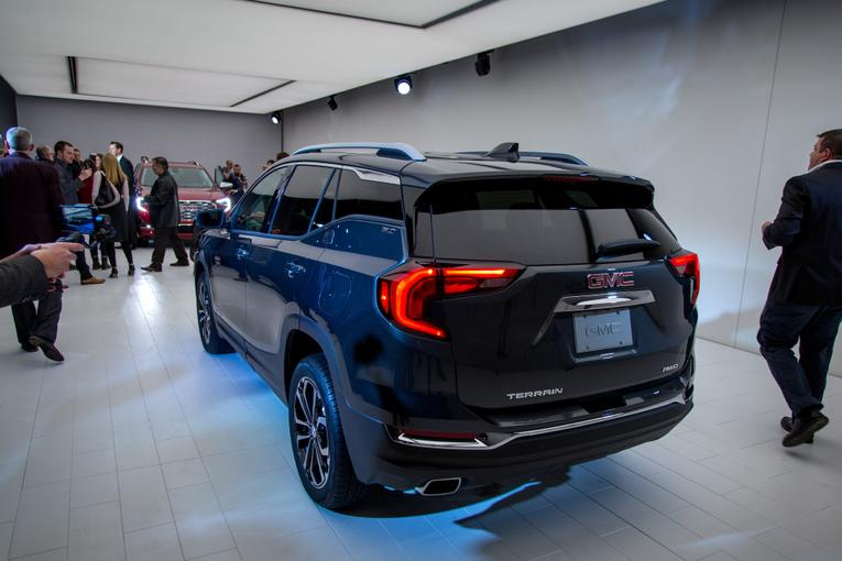 Awesome 2018 GMC Terrain Review First Impressions And Photo Gallery