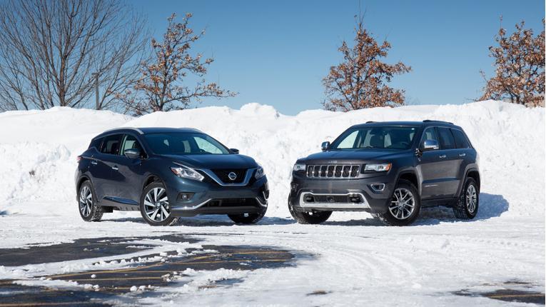2015 Jeep Grand Cherokee Versus 2015 Nissan Murano