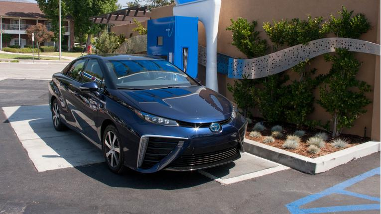 Fill 'er Up: Refueling the 2016 Toyota Mirai
