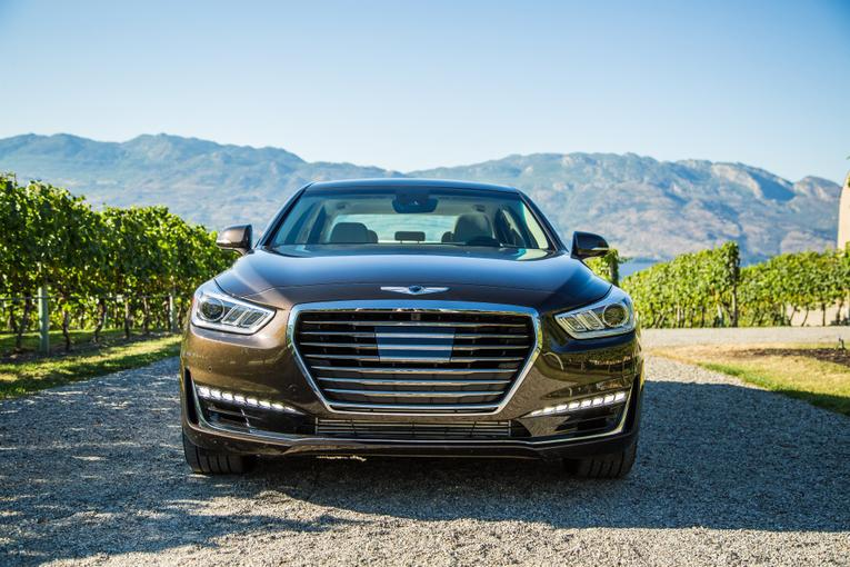 2017 Genesis G90 Costs Less Than Rivals More Than