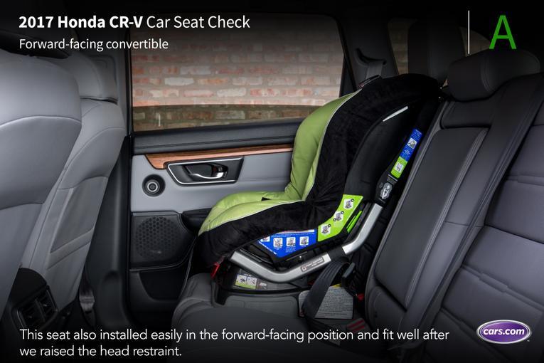 honda cr  car seat check