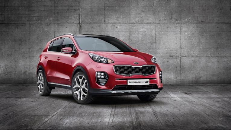 Kia Previews 2017 Sportage
