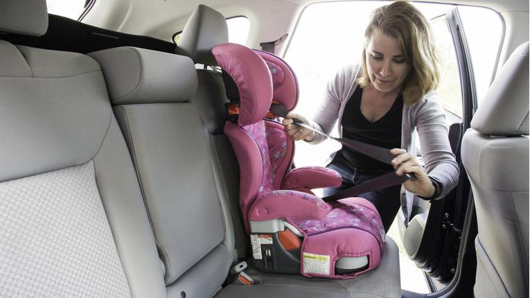 2015 Honda CR-V: Car Seat Check
