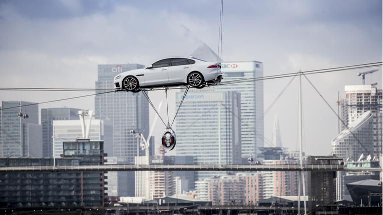 Jaguar Unveils New XF