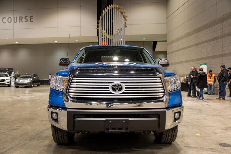 Chicago Cubs World Series Toyota Tundra