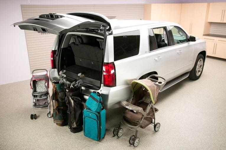2015 chevrolet tahoe real world cargo space news - Small suv cargo space comparison collection ...