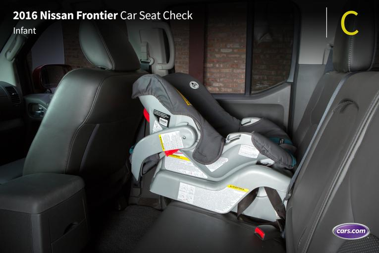 2016 Nissan Frontier Car Seat Check