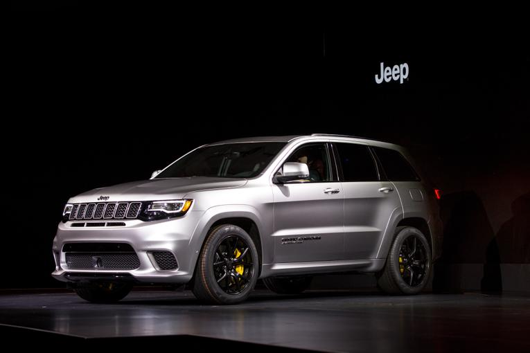 Creative 2018 Jeep Grand Cherokee Trackhawk First Impressions And