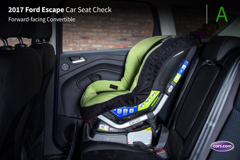 2017 Ford Escape Car Seat Check