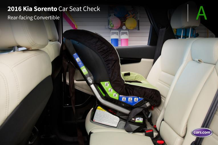 jswain 2016 kia sorento with optional third row car seat check. Black Bedroom Furniture Sets. Home Design Ideas