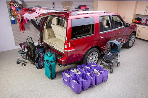2015 Lincoln Navigator Real World Cargo Space