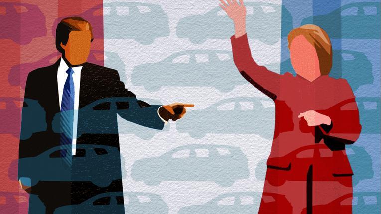Clinton Versus Trump: The Auto Industry