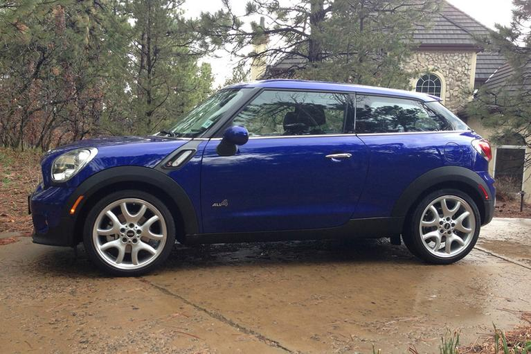 Our view: 2013 MINI Paceman