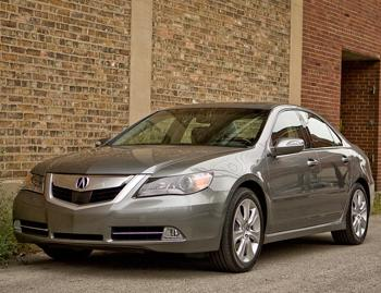 Our view: 2009 Acura RL