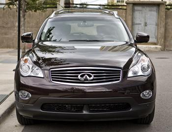 Our view: 2010 Infiniti EX35