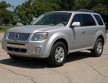 Our view: 2008 Mercury Mariner Hybrid