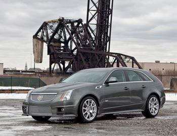 Our view: 2012 Cadillac CTS