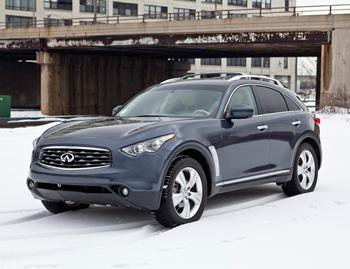 Our view: 2010 Infiniti FX35