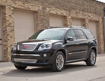 Our view: 2011 GMC Acadia