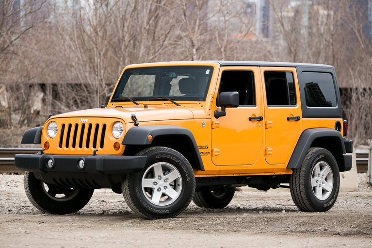 Our view: 2013 Jeep Wrangler Unlimited