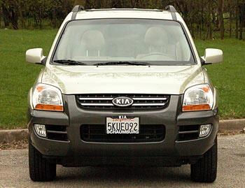 Our view: 2005 Kia Sportage