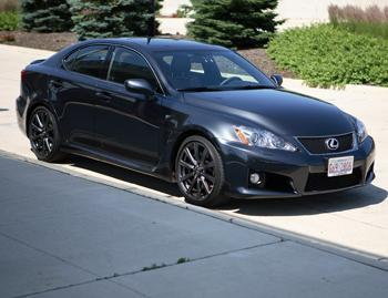 Our view: 2009 Lexus IS-F
