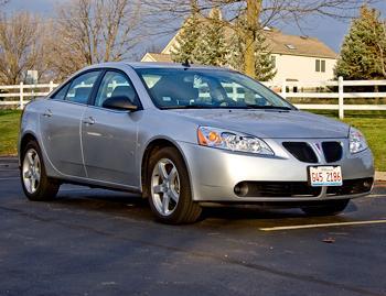 Our view: 2009 Pontiac G6