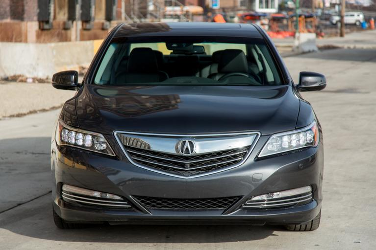 Our view: 2016 Acura RLX Sport Hybrid