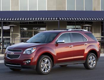 Our view: 2011 Chevrolet Equinox