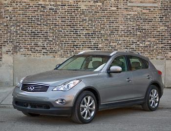 Our view: 2008 Infiniti EX35