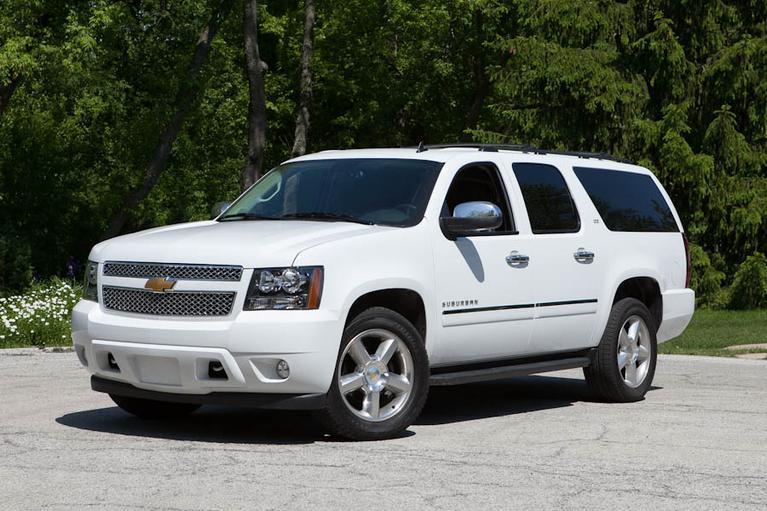 Our view: 2013 Chevrolet Suburban