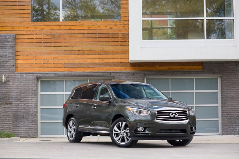 Our view: 2013 Infiniti JX35