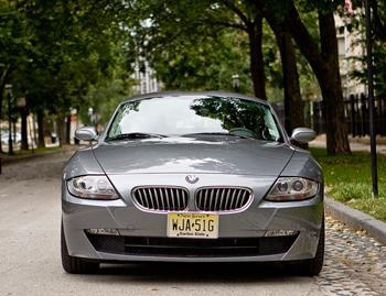 Our view: 2008 BMW Z4