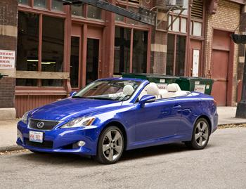 Our view: 2010 Lexus IS 250C