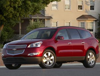 Our view: 2010 Chevrolet Traverse