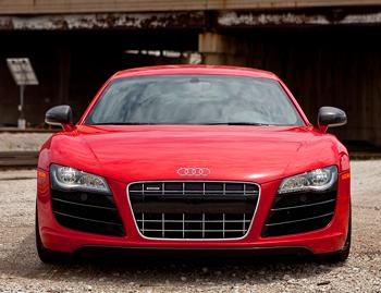 Our view: 2010 Audi R8