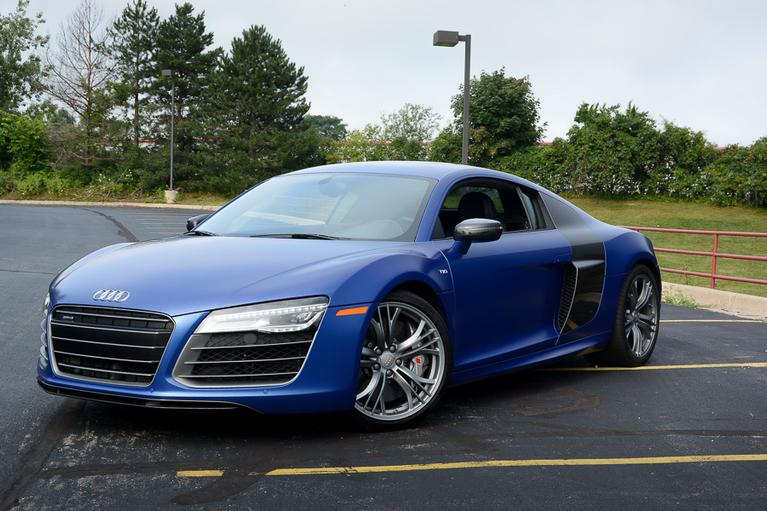Our view: 2014 Audi R8
