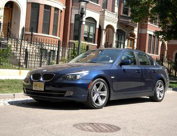 Our view: 2008 BMW 528