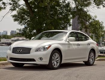 Our view: 2012 Infiniti M56