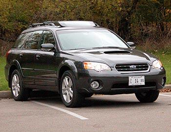 Our view: 2007 Subaru Outback