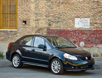 Our view: 2009 Suzuki SX4