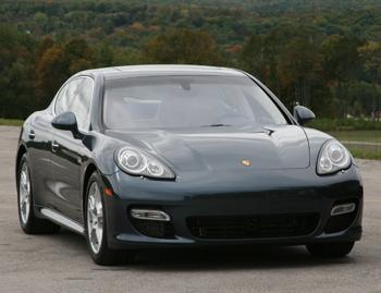 Our view: 2010 Porsche Panamera