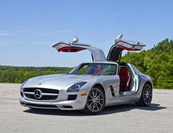Our view: 2011 Mercedes-Benz SLS AMG