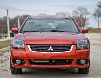 Our view: 2010 Mitsubishi Galant