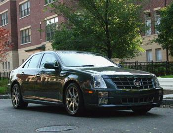 Our view: 2008 Cadillac STS
