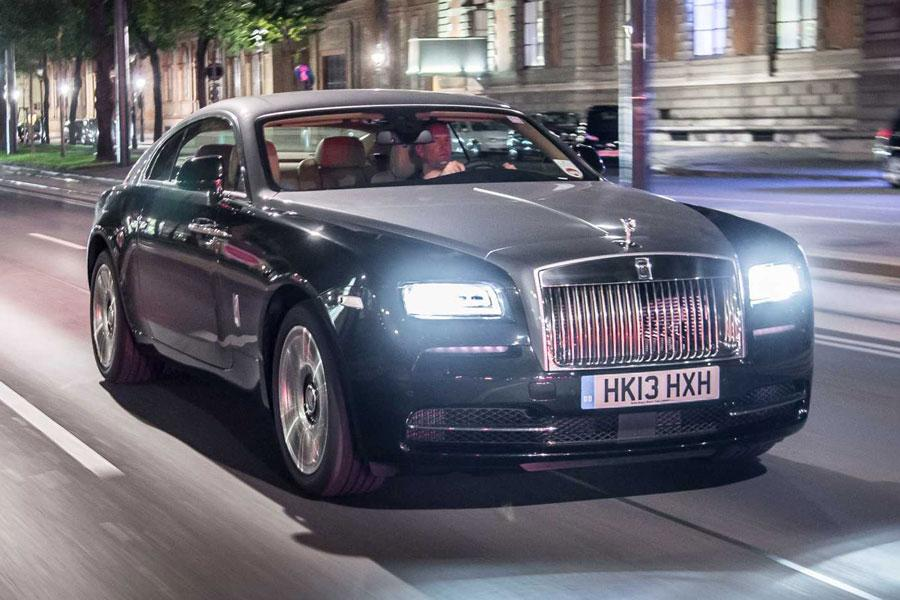 2014 Rolls-Royce Wraith Photo 3 of 17