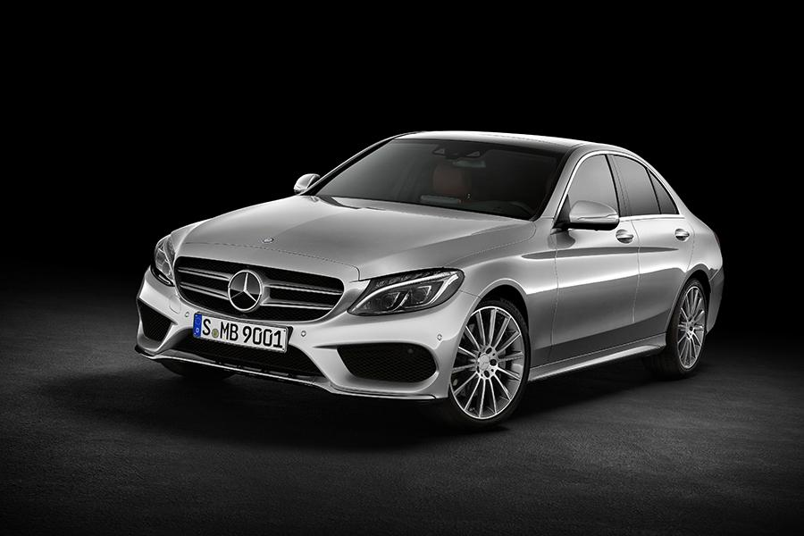 gallery - 2015 Mercedes Benz C Class White