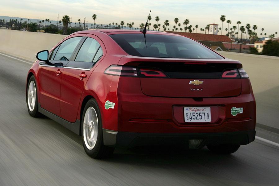 2014 Chevrolet Volt Overview Cars Com
