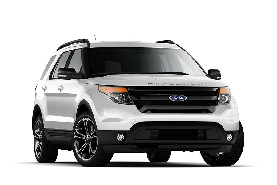 14 - Ford Explorer Black 2015
